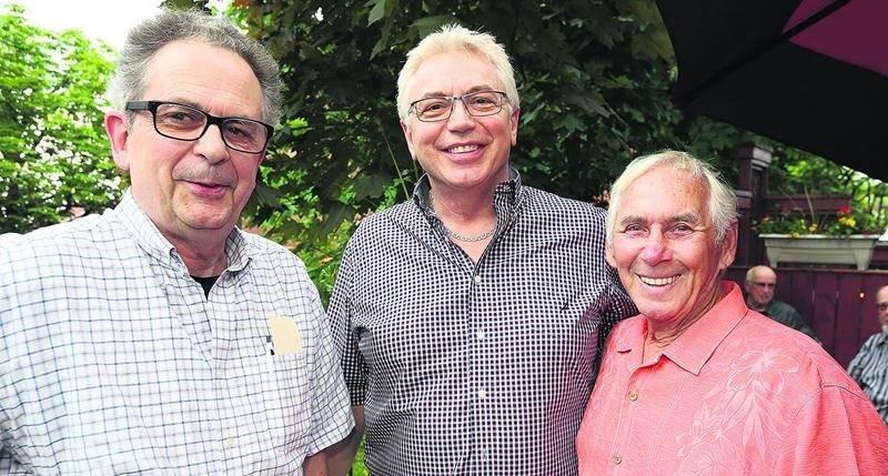 Pierre Boislard, Michel Viens et Paul-Émile Parenteau.