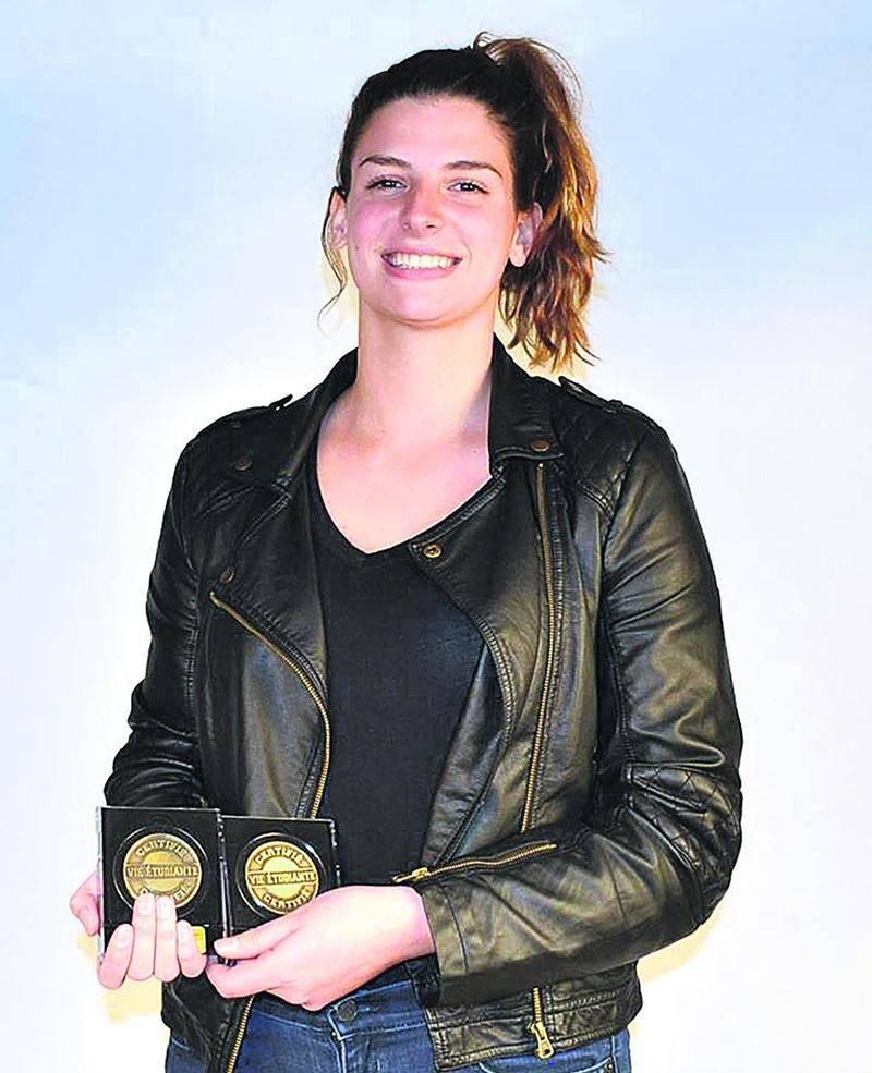 Amélie Poirier-Borduas, athlète féminine de l'année.