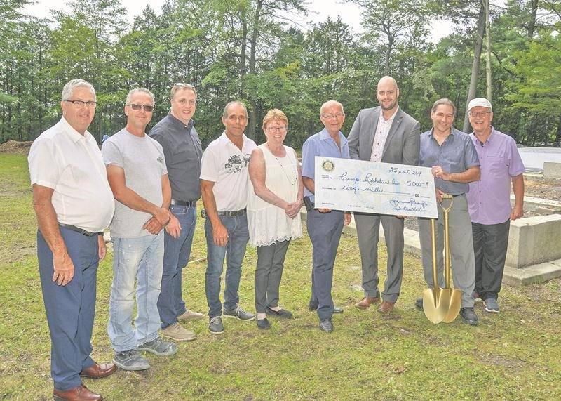 Le Club Rotary appuie le Camp Richelieu