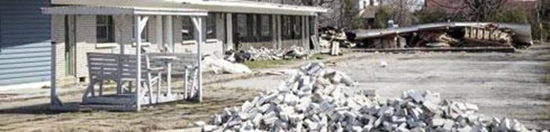 L'ancien propriétaire du manoir Gaulin, dont la bâtisse est en cours de démolition, a reçu une amende pour insalubrité.