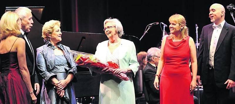Lors de la soirée de gala, un hommage bien senti a été rendu à la présidente sortante et sénatrice retraitée.