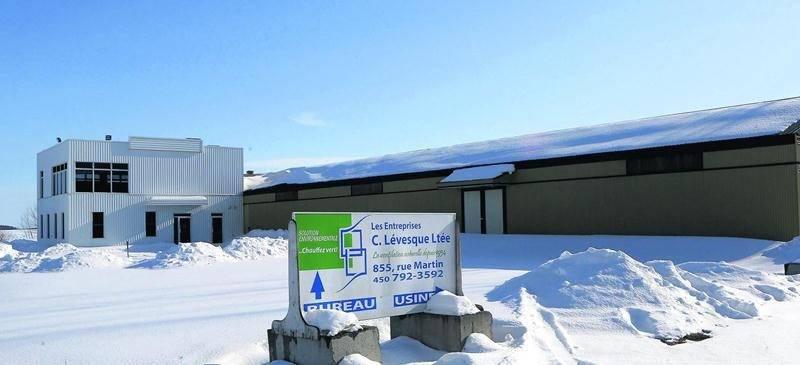 Les Entreprises C. Lévesque étaient situées à Saint-Jude. Photo Robert Gosselin | Le Courrier ©