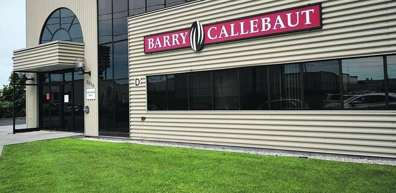 L'usine Barry Callebaut est située sur la rue Nelson à Saint-Hyacinthe. Photo François Larivière | Le Courrier ©
