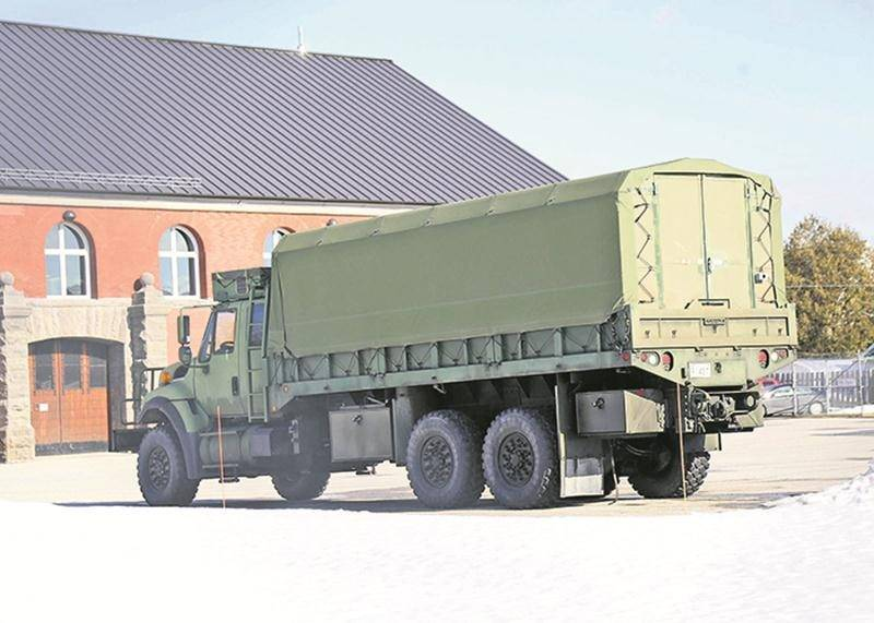 Exercice militaire à Saint-Hyacinthe