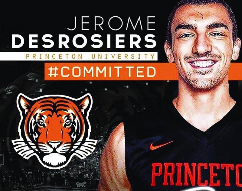 L'école secondaire Northfield Mount Hermon a publié ce montage sur sa page Facebook pour annoncer que son protégé joindra les Tigers en 2017. Photo Courtoisie