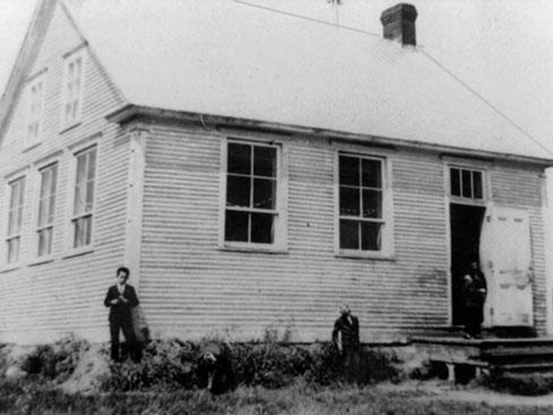 École du 8<sup>e</sup> rang, vers 1940.