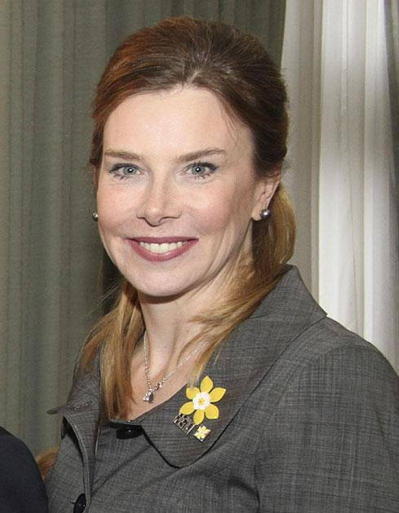 Lise Faucher, présidente d'honneur des Jours de la jonquille.