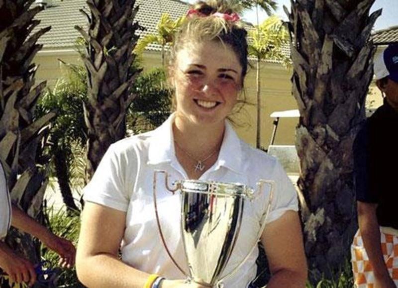 La golfeuse maskoutaine Valérie Tanguay n'a pas tardé avant de mettre la main sur un titre en 2013. Tout comme elle l'avait fait l'an dernier, Valérie a remporté un tournoi du circuit de golf junior Hurricane disputé à Royal Palm Beach à la fin mars avec des cartes de 73 et 79. Elle a également terminé première aux qualifications du tournoi Innisbrook de Tampa, lui permettant de faire partie des concurrents officiels. En qualification, Valérie s'est permis un premier trou d'un coup lors d'un par