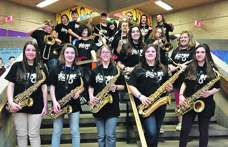 Les jeunes musiciens de la PHD présenteront le concert Jazz Pop au Centre des arts Juliette-Lassonde, un spectacle qui risque d'avoir du swing.Photo courtoisie