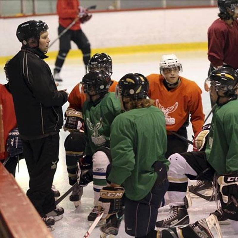 Le camp d'entraînement de l'équipe de hockey junior AAA les Lauréats du Cégep de Saint-Hyacinthe vient tout juste de prendre fin. La saison sera lancée samedi à Saint-Jérôme lors du Challenge de la Ligue junior AAA du Québec.