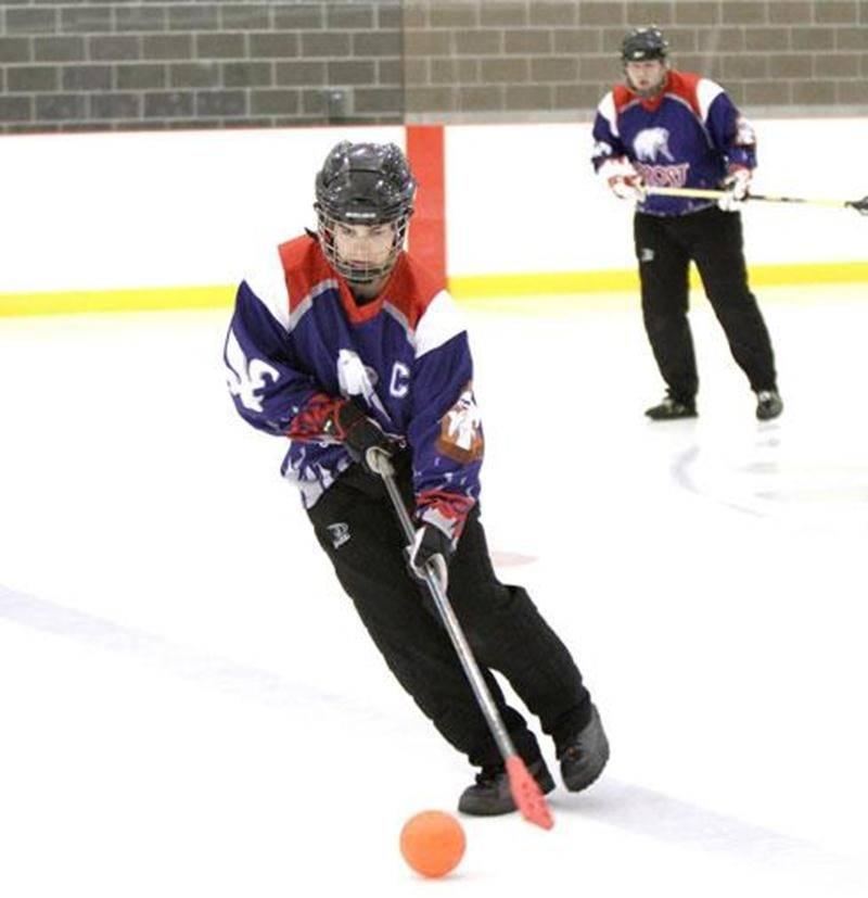 Le Frost de Saint-Hyacinthe participera au Championnat provincial mineur de ballon sur glace à Victoriaville.