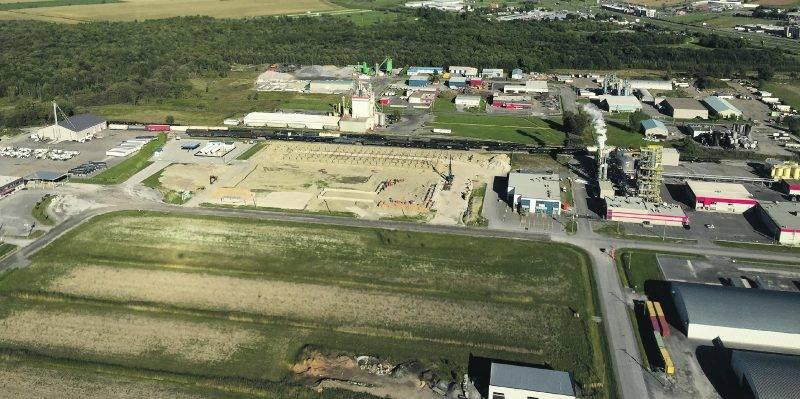 Les travaux de construction ont commencé sur le site où sera bâti le nouveau siège social de Transport Nalaco, une propriété de JEFO Logistique.