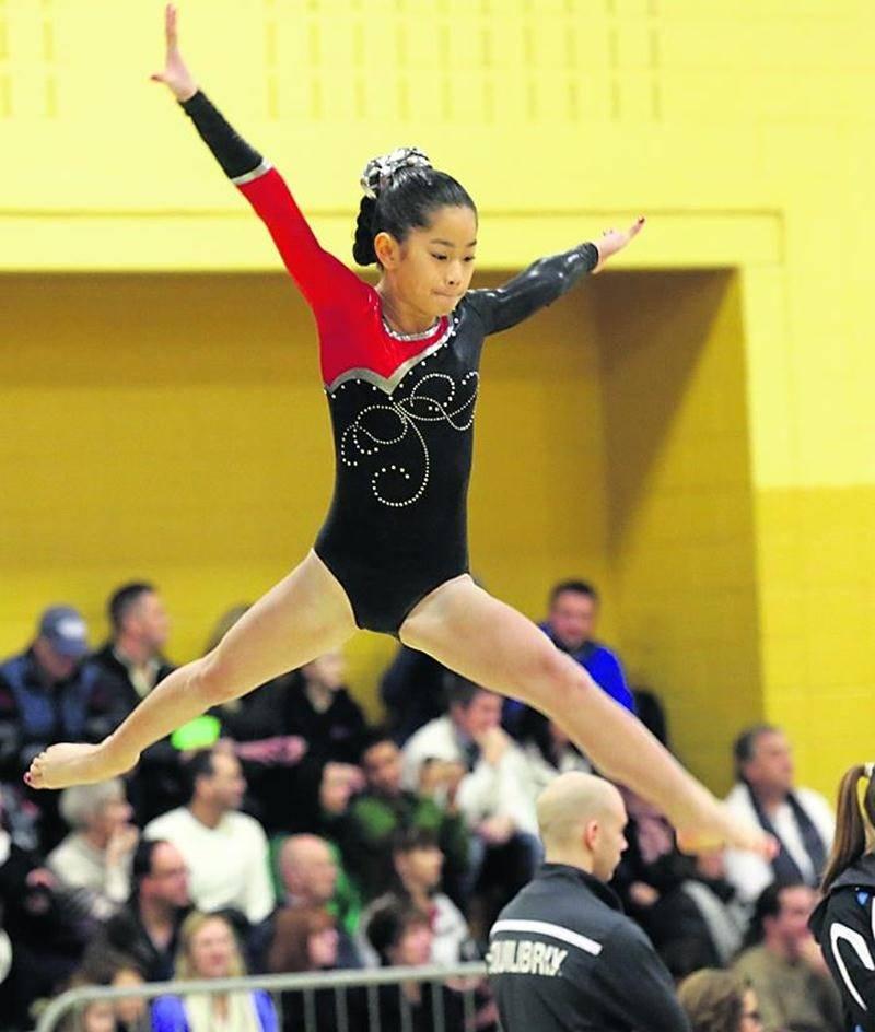 Plus de 370 athlètes ont participé à la 2e sélection de gymnastique artistique. Photo Robert Gosselin | Le Courrier ©