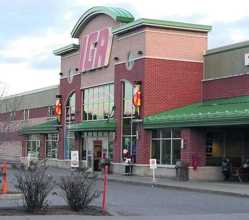 L'épicerie IGA située dans le quartier Douville à Saint-Hyacinthe. Photothèque | Le Courrier ©