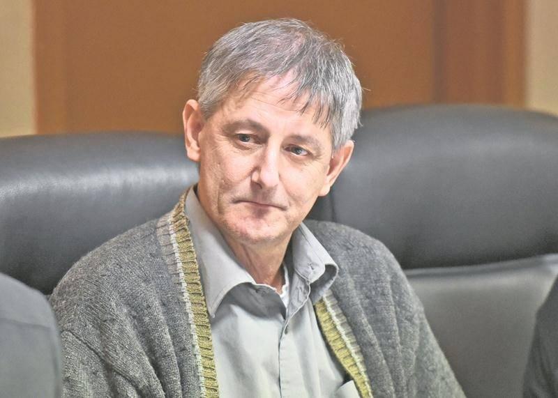 Le maire du Village de Sainte-Madeleine, André Lefebvre.  Photothèque | Le Courrier ©