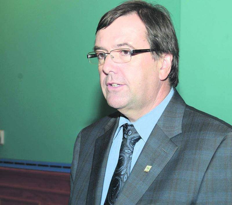 Le directeur général de la Ville de Saint-Hyacinthe, Louis Bilodeau. Photothèque | Le Courrier ©