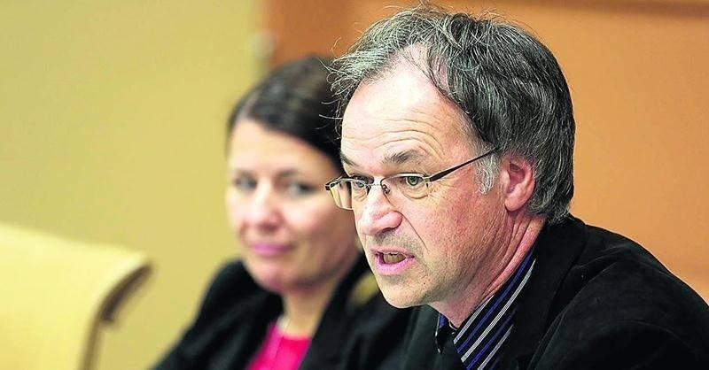 Richard Flibotte, président de la CSSH.  Photo Robert Gosselin | Le Courrier ©