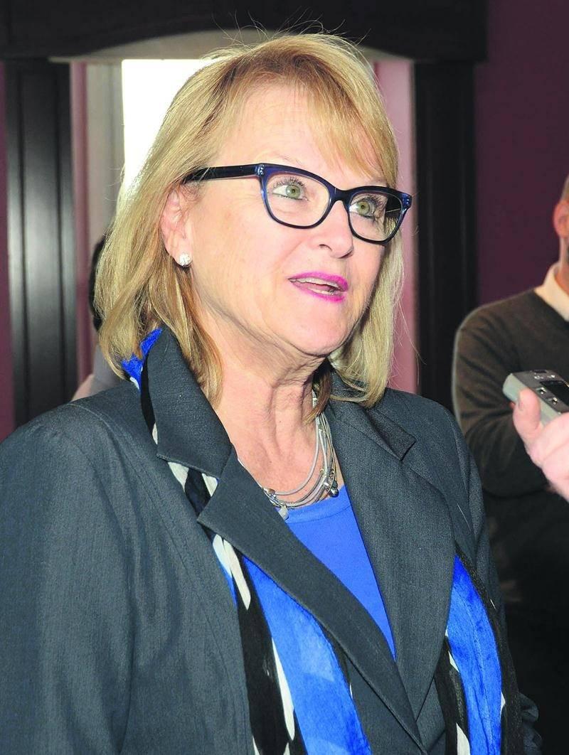 Nicole Ménard, présidente du caucus du gouvernement Couillard et ex-ministre responsable de la Montérégie. Photo François Larivière | Le Courrier ©
