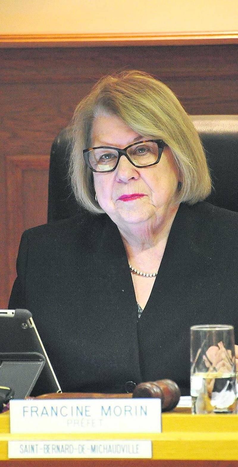 Francine Morin, préfet de la MRC des Maskoutains.