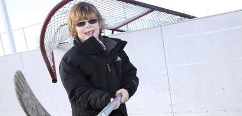 Un tournoi de hockey est organisé les 2 et 3 février dans le cadre de la campagne de financement de Félix, 7 ans, pour Opération Enfant Soleil.