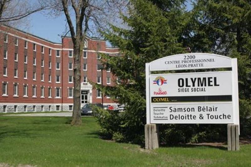 La direction d'Olymel dont le siège social est situé à Saint-Hyacinthe a procédé vendredi au rappel de 172 000 kilos de cubes de bacon vendus aux États-Unis.