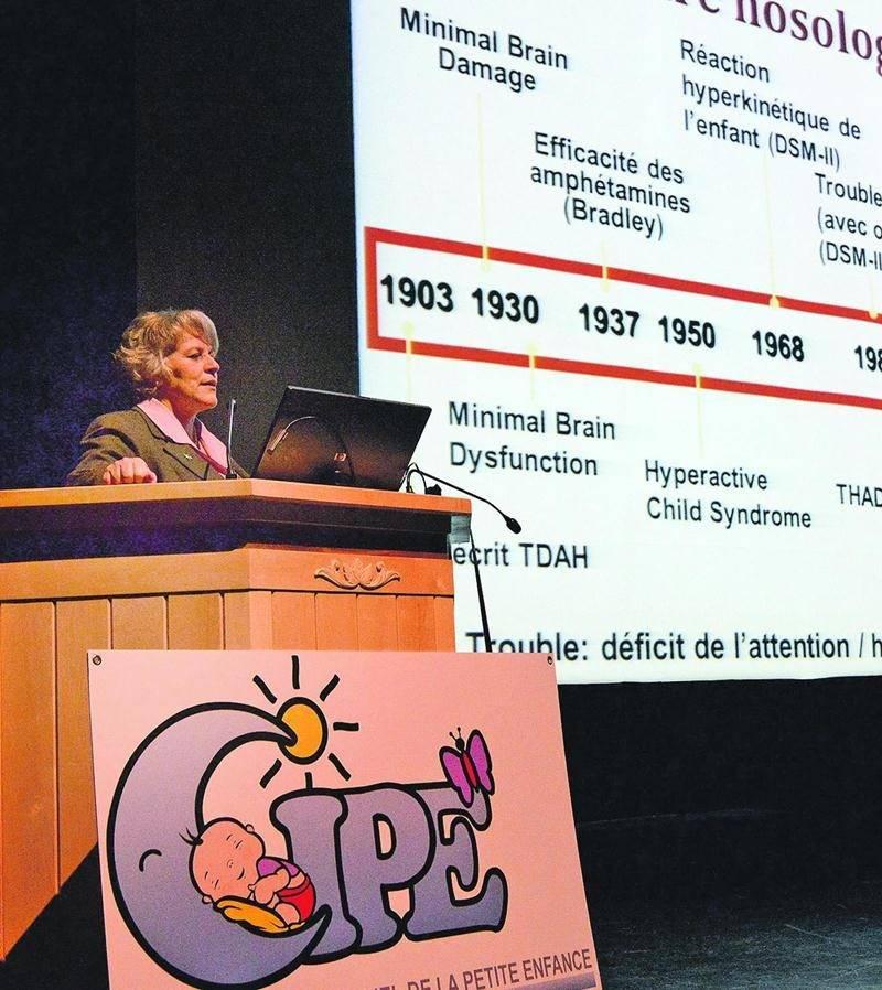 La conférence de Dr Christiane Laberge a permis de mieux comprendre ce qu'est le TDA/H et de découvrir des outils pouvant soutenir un enfant, un adolescent ou toute autre personne qui vit avec une problématique de TDA/H. Photo François Larivière | Le Courrier ©