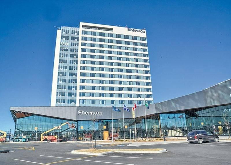 Le nouvel hôtel Sheraton de Saint-Hyacinthe ouvrira ses portes le mardi 8 mai.