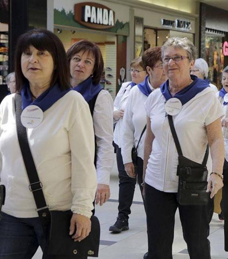 La VI e Marche à relais pour la reconnaissance du travail invisible a regroupé 91 participantes provenant de la région Richelieu-Yamaska.
