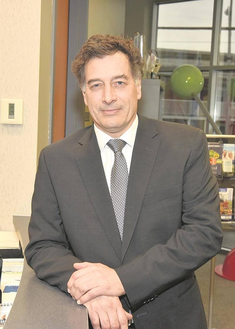 André Barnabé, directeur général de Saint-Hyacinthe Technopole.  Photothèque | Le Courrier ©