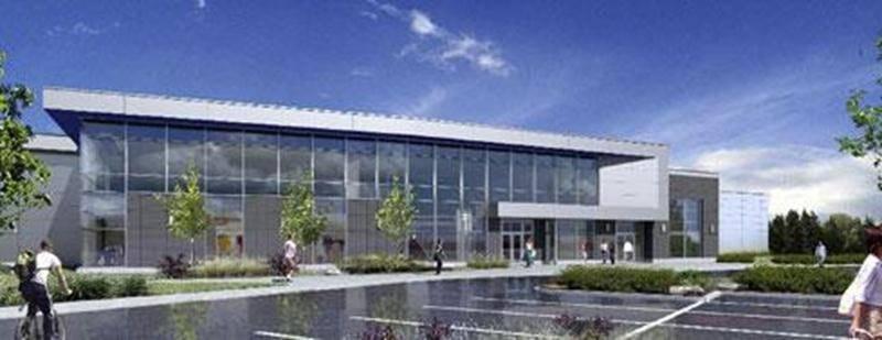 Syscomax veut implanter des complexes sportifs comme celui-ci aux quatre coins du Québec.