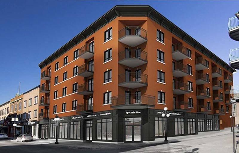 Le projet présenté au CCU ressemble beaucoup au précédent, celui de 2016. Le sixième étage serait constitué de trois logements aménagés au centre et entourés de terrasses.