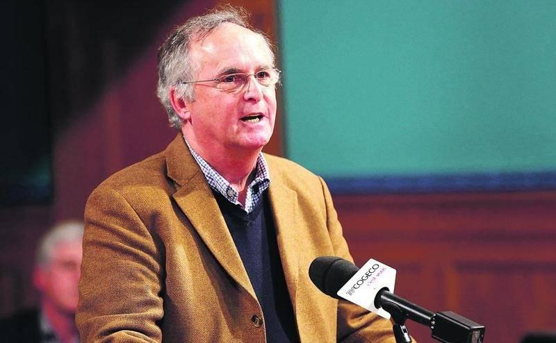 Jean-Marie Pelletier, du centre Expression. Photo Robert Gosselin | Le Courrier ©