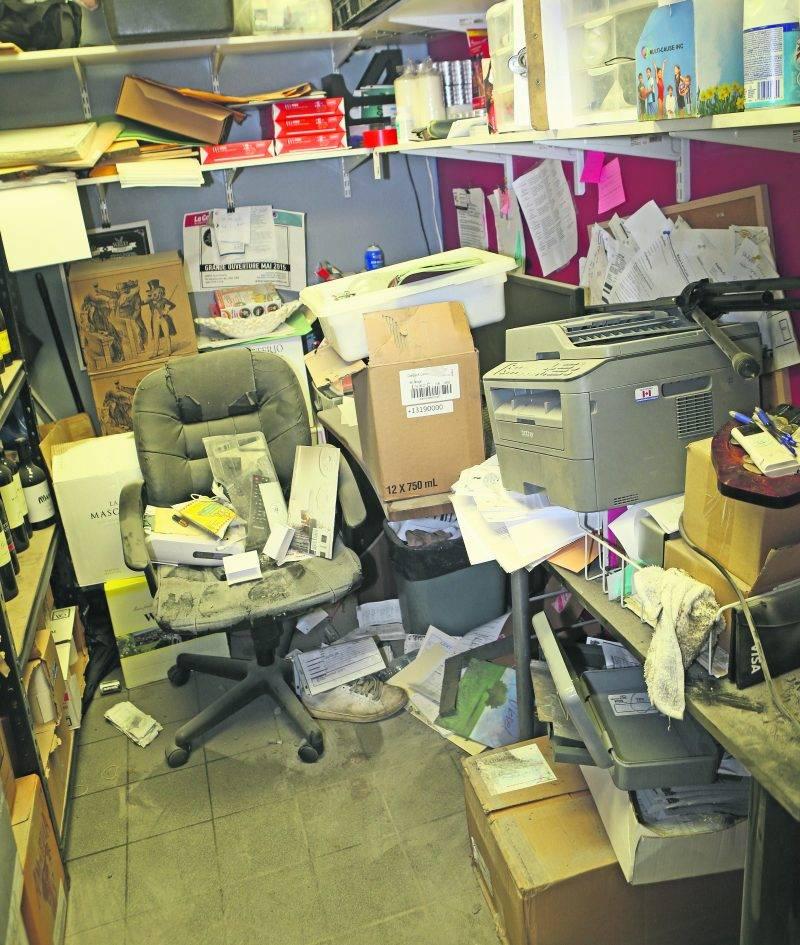 Dans le cas du White Rabbit, les voleurs se sont introduits dans le bureau où se trouvait le coffre-fort avant de repartir sans être repérés. Photo Robert Gosselin | Le Courrier ©