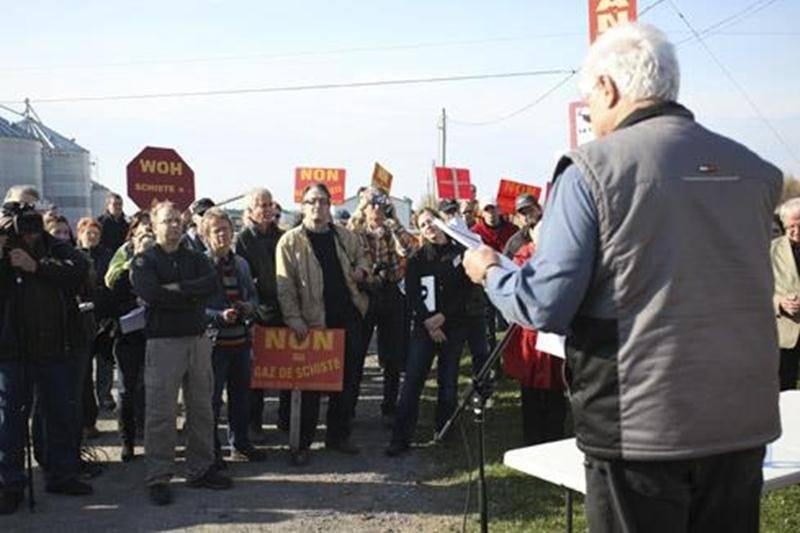 Un nouveau rassemblement populaire s'est tenu cette semaine aux abords du site gazier de La Présentation.