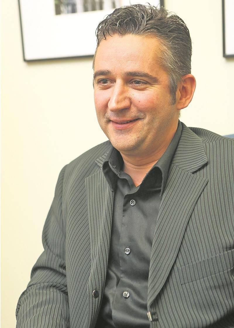 Stéphane Bernier, maire sortant de Saint-Louis. Photothèque | Le Courrier ©