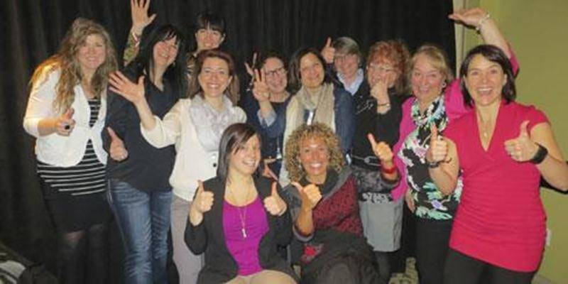Le Forum coopératif féminin 2014 a réuni 97 femmes. Sur la photo, le comité organisateur.