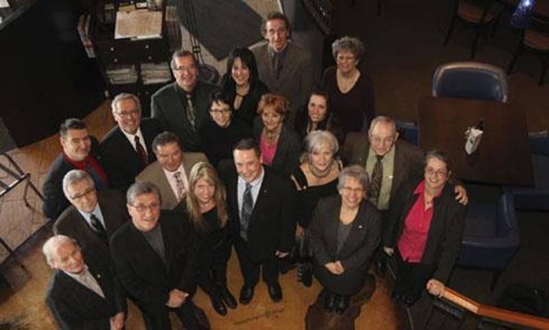 Les membres du comité organisateur de la <em>Journée Pacini pour la Santé</em>.