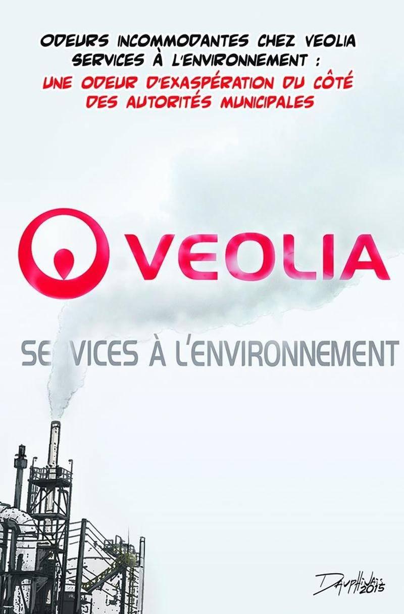 La Ville de Saint-Hyacinthe a finalement levé le ton et imposé des amendes à l'usine Véolia concernant ses problèmes d'odeurs incommodantes. Cela n'a pas eu l'air de jeter de l'huile sur le feu, au contraire.