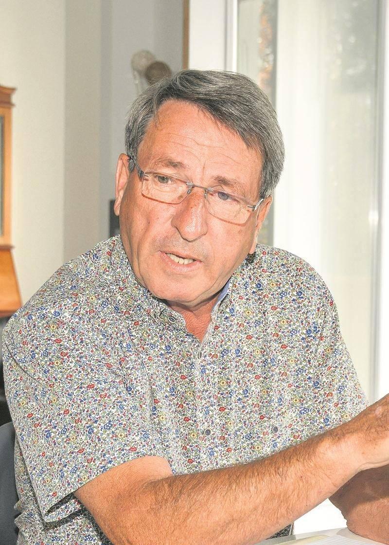 Gilles Carpentier, de Renouveau Sainte-Madeleine.   Photo François Larivière | Le Courrier ©