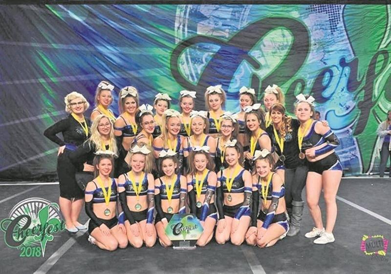 Power Dream s'envolera dans les prochains jours pour Orlando afin de participer au Championnat du monde de cheerleading. Photo Courtoisie