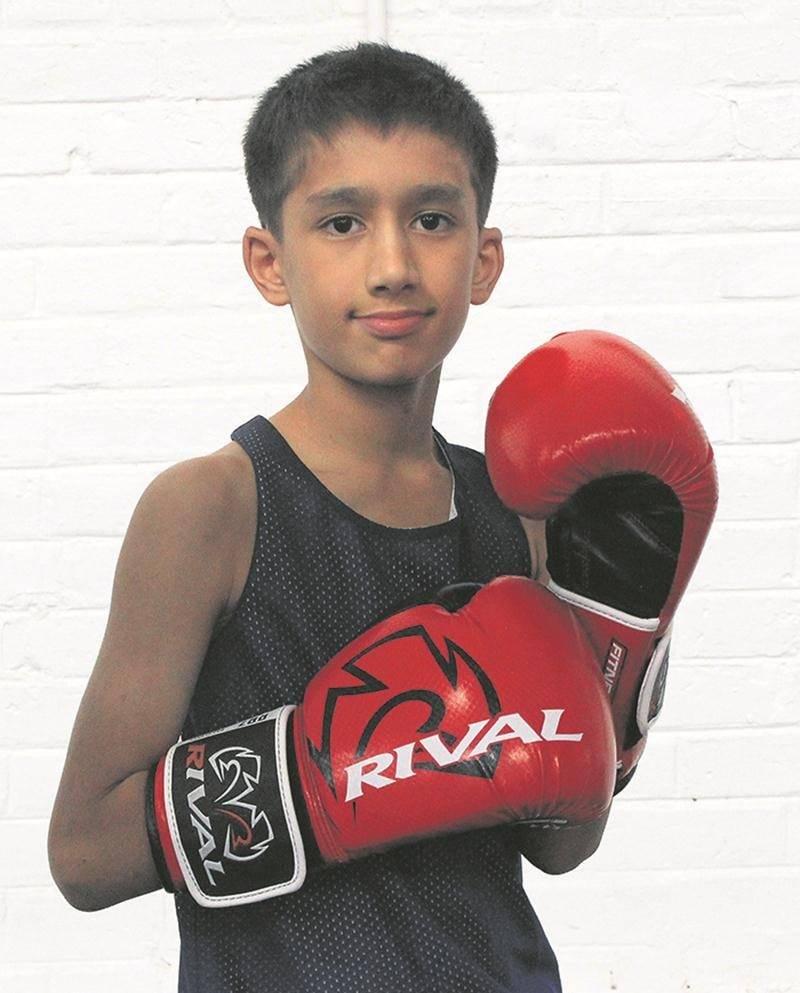 Asfand Khan a livré deux combats en deux jours à la fin février. Photo Courtoisie