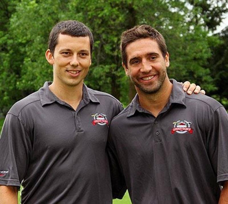 Bruno Gervais et Maxim Talbot, des coéquipiers et amis de longue date, lancent ce soir une tournée provinciale mettant en vedette des hockeyeurs de la LNH.