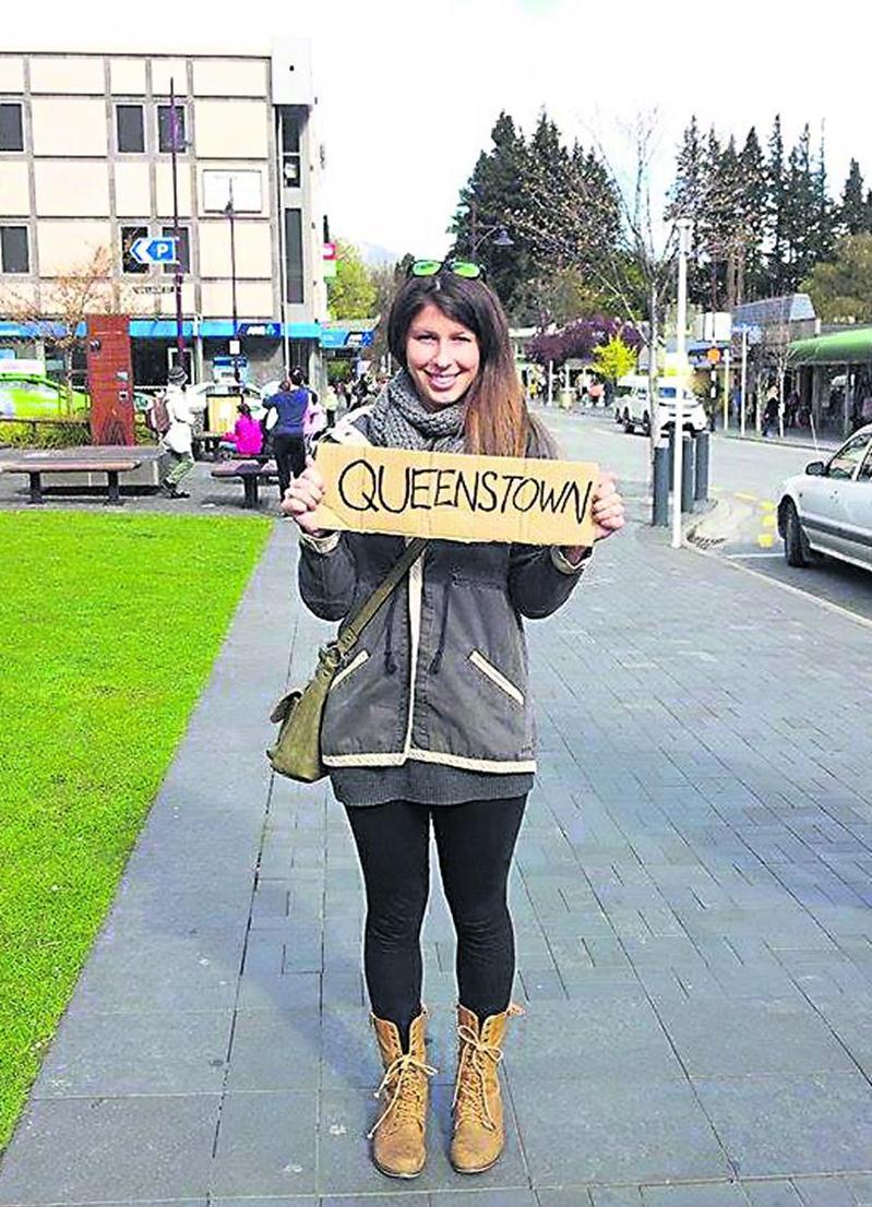En Nouvelle-Zélande depuis six mois, la Maskoutaine Jessica Gallant a eu l'occasion de visiter les deux îles qui composent ce pays d'Océanie.  Photo Jessica Gallant
