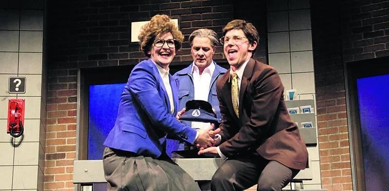 Forte d'un succès dans les années 1980, la pièce La déprime est présentée avec une toute nouvelle mouture. Photo Mélissa Bascunan ©