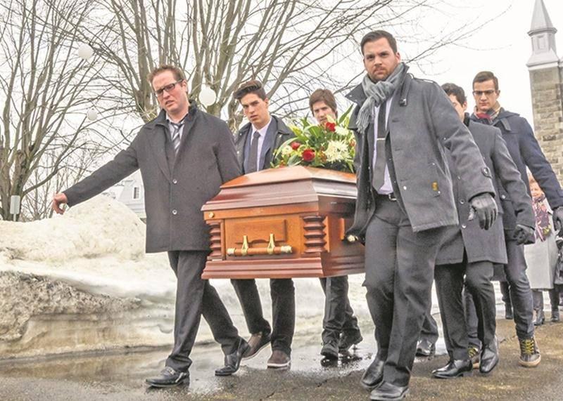 Des funérailles à la hauteur de l'homme