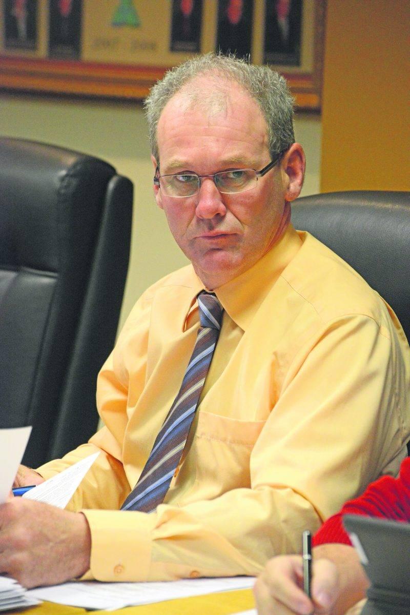 Le maire de Saint-Pie, Mario St-Pierre.