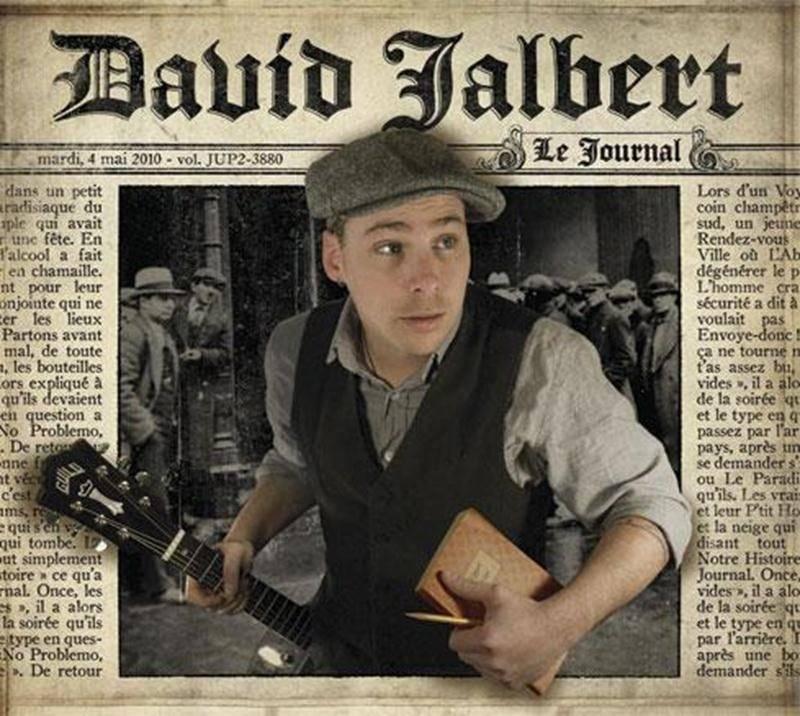 David Jalbert entamera sa tournée 2012 au Centre des arts Juliette-Lassonde de Saint-Hyacinthe le jeudi 19 janvier.