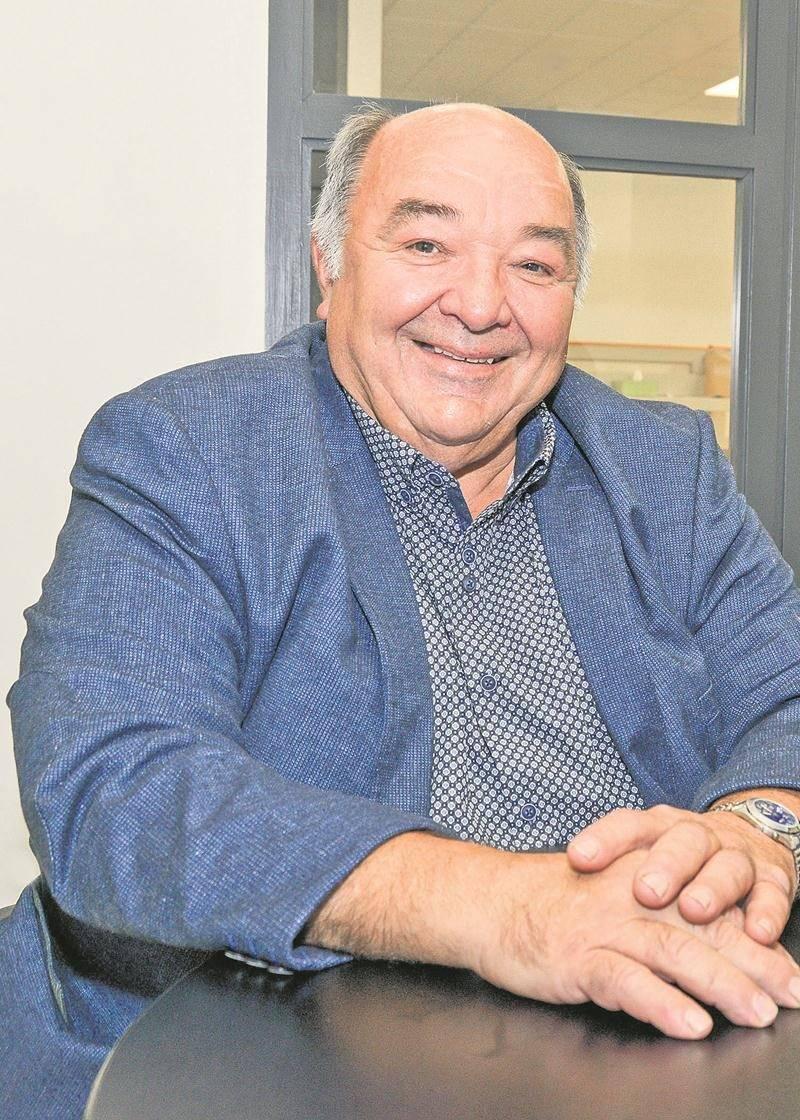 Serge Guertin, candidat dans le district Saint-Thomas-d'Aquin. Photo François Larivière | Le Courrier ©