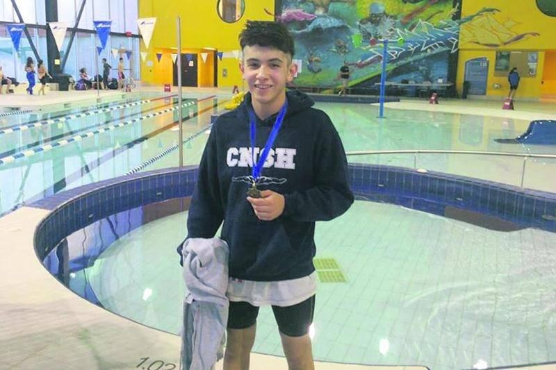 Herman Gonzales Martinez a tout raflé au championnat provincial par groupe d'âge. Photo Facebook CNSH