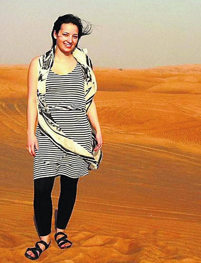 Le désert entourant la ville de Dubaï, aux Émirats arabes unis, a conquis le coeur de la Maksoutaine Chloé Brodeur. Photo courtoisie